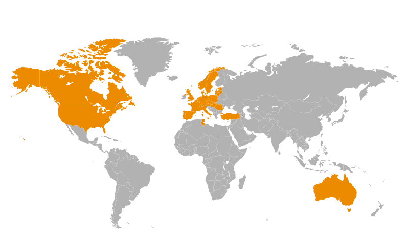 Hamelin Group worldwide presence